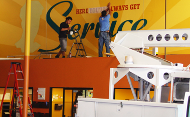 Professional Installation - Vinyl Decals, Signage & Event/Store Displays