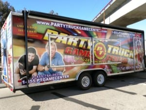 vehicle wrap-partytruck