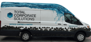 vehicle wrap - corporate van